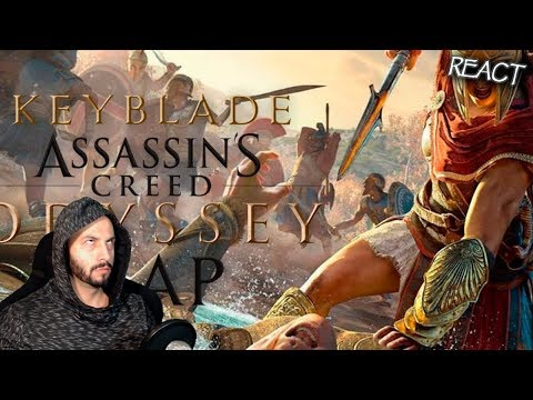 ASSASSIN'S CREED ODYSSEY RAP | Keyblade | CENSPLAY REACTION