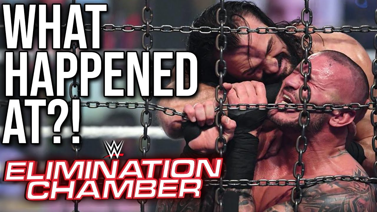 2021 WWE Elimination Chamber results: Live updates, recap ...