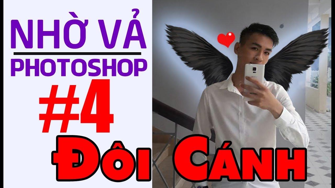 Nhờ vả Photoshop #4: Đôi cánh cool ngầu