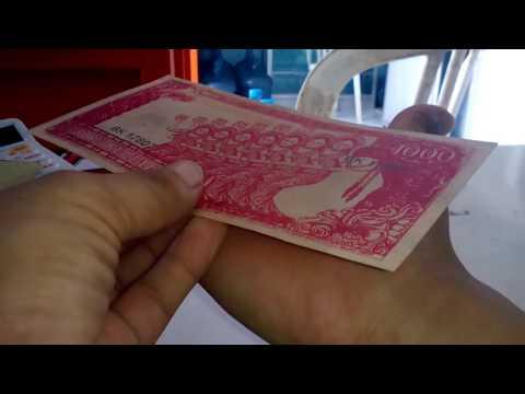 President sukarno unique paper money. Uang kertas sukarno unik