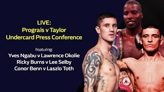 LIVE: Prograis v Taylor and Chisora v Price Public Workout | William Hill Boxing