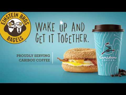 Einstein Bros Bagels & Caribou Coffee - Get It Together