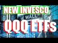 New Invesco QQQ ETFs Explained:  QQQM, QQQJ, QQQG, IVNQX (Stock Analysis)