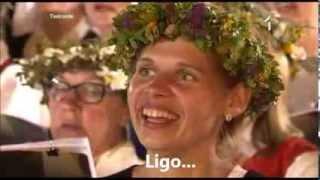 "Latvian Song Festival - ""Līgo!"" (Sway!) ENGLISH translation / subtitles"
