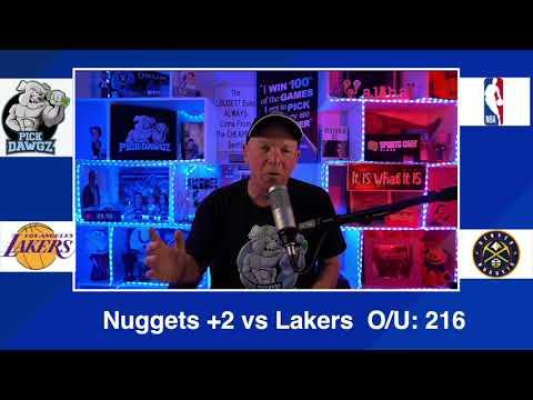 Denver Nuggets vs Los Angeles Lakers 2/14/21 Free NBA Pick and Prediction NBA Betting Tips
