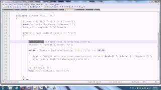 PHP -Import CSV file