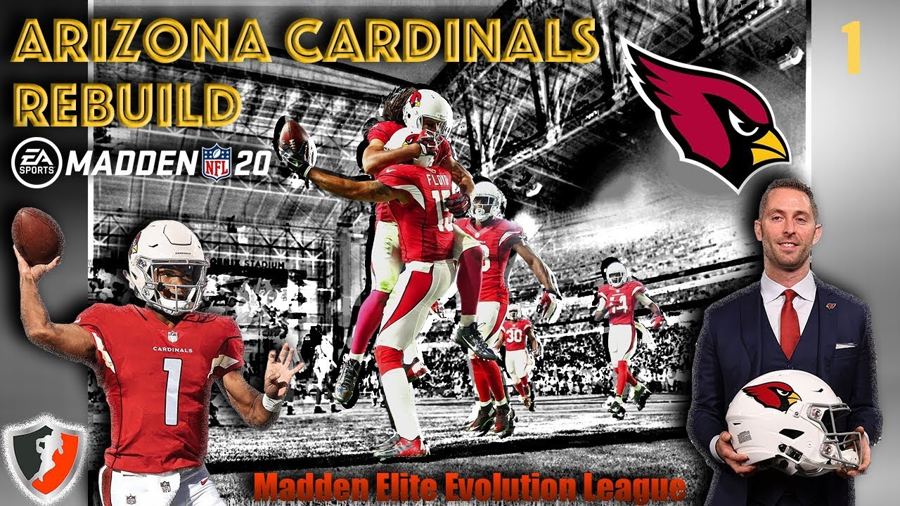 9ced6506 Arizona Cardinals Rebuild(Offseason Recap)Madden 20-Ep. 1