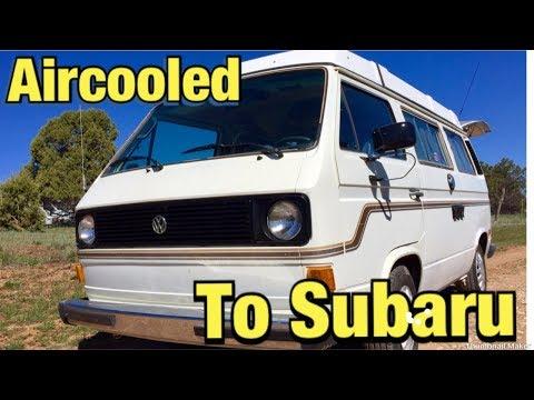 1983 Aircooled Vanagon Subaru JDM 2.5 Conversion Tour