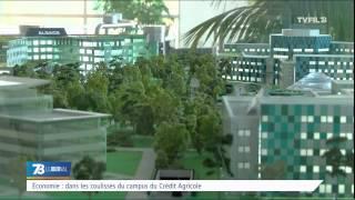 Economie : dans les coulisses du campus du Crédit Agricole