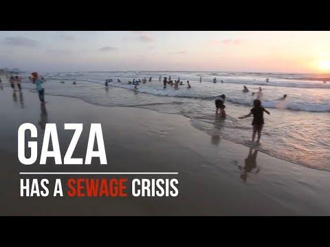 Gaza Sewage Crisis 2017 | Welcome to Palestine