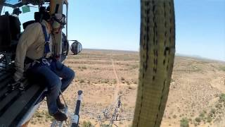 High-flying SRP linemen do repairs from the sky