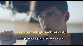 Porter Robinson - Lionhearted ft. Urban Cone (Lyrics - Sub Español) Official Video