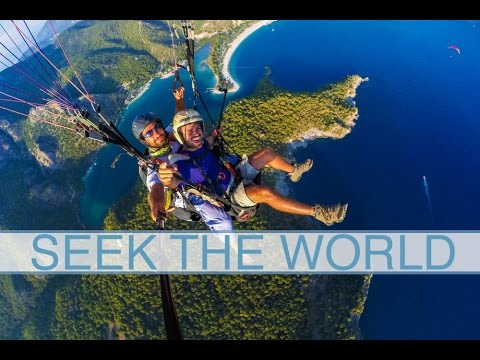 Oludeniz, Turkey is One of the Best Paragliding Places in the World