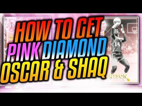 NBA 2K18 MyTEAM HIDDEN CARDS! HOW TO GET PINK DIAMOND OSCAR ROBERTSON & SHAQ!