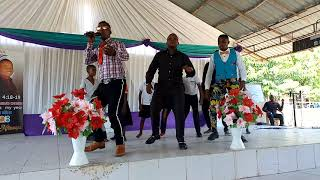 Sunday service in Shekina Mtongani Tanzania. Song from Pafii Band.