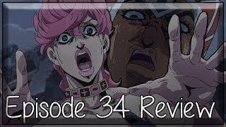 Feeling Like a Different Person - JoJo's Bizarre Adventure Golden Wind Episode 34 Anime Review