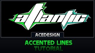 Accented Lines | Tutorial | Photoshop CC