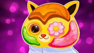 Суровый КОТИК БУБУ 49 Салон красоты Маска для Игрули Мультик ИГРА про котят на Игрули TV