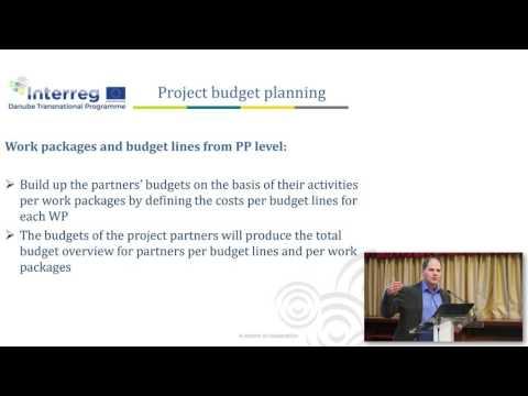Preparing an application - Financial management