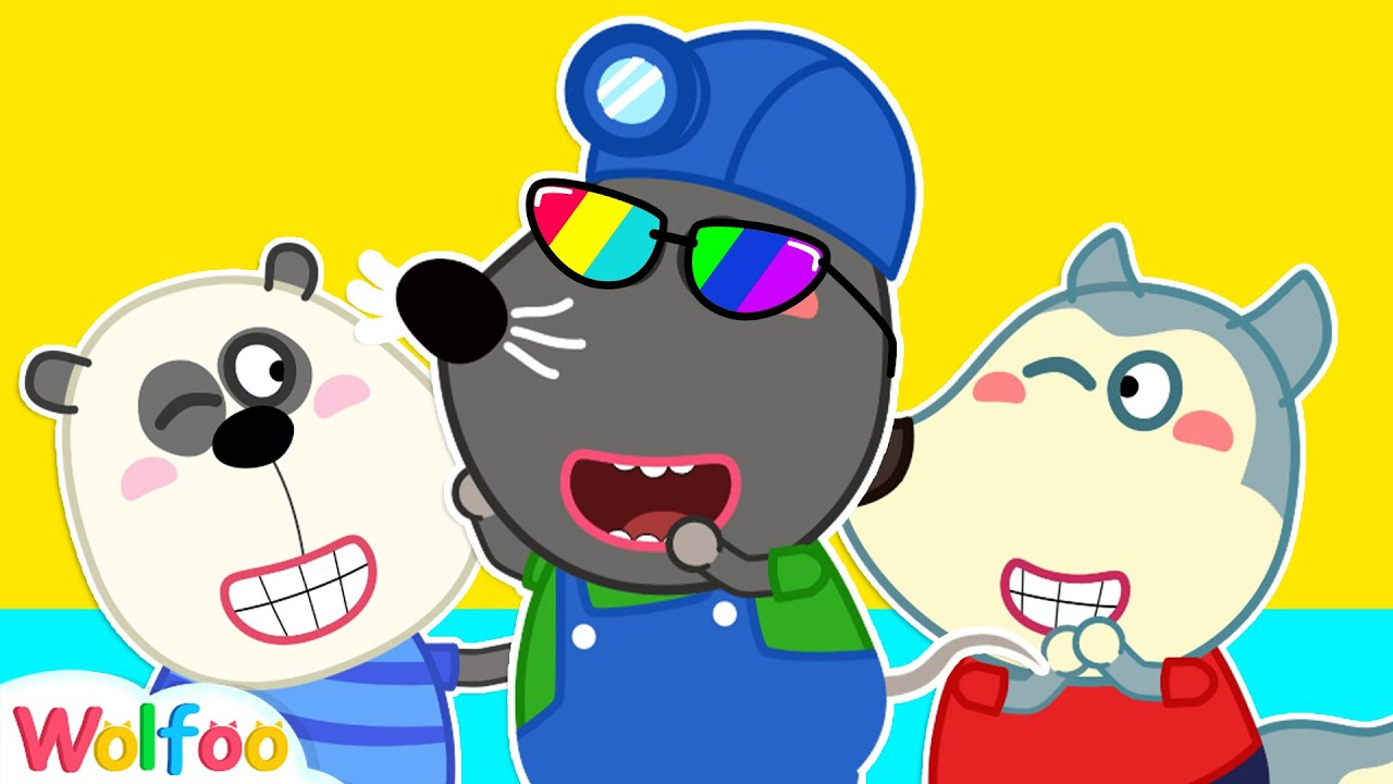 Wolfoo & Funny Stories for Kids About Rainbow Eyeglasses | Wolfoo Family Kids Cartoon
