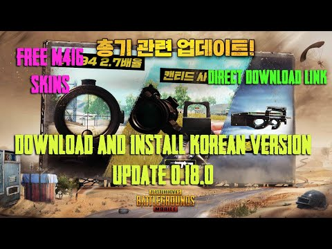 Download Install Pubg Mobile Kr Korean Version In Android Update 0 18 0