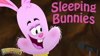 sleeping bunnies song music for children rainbow songs by howdytoons