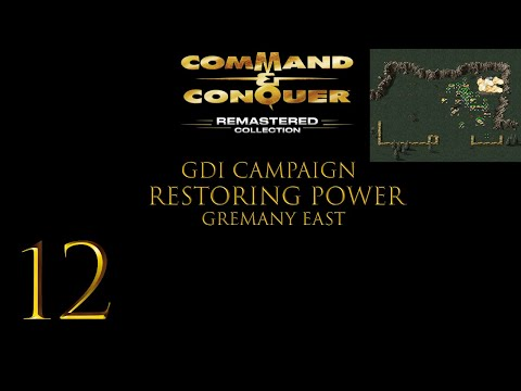 Command & Conquer Remastered Collection Ep. 12 (Restoring Power Gremany East) |