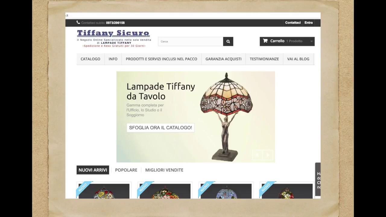 Negozio Vendita Lampade Tiffany Online: Affidabilità e Sicurezza ...