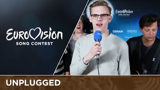 Jüri Pootsmann (Estonia) sings Play unplugged