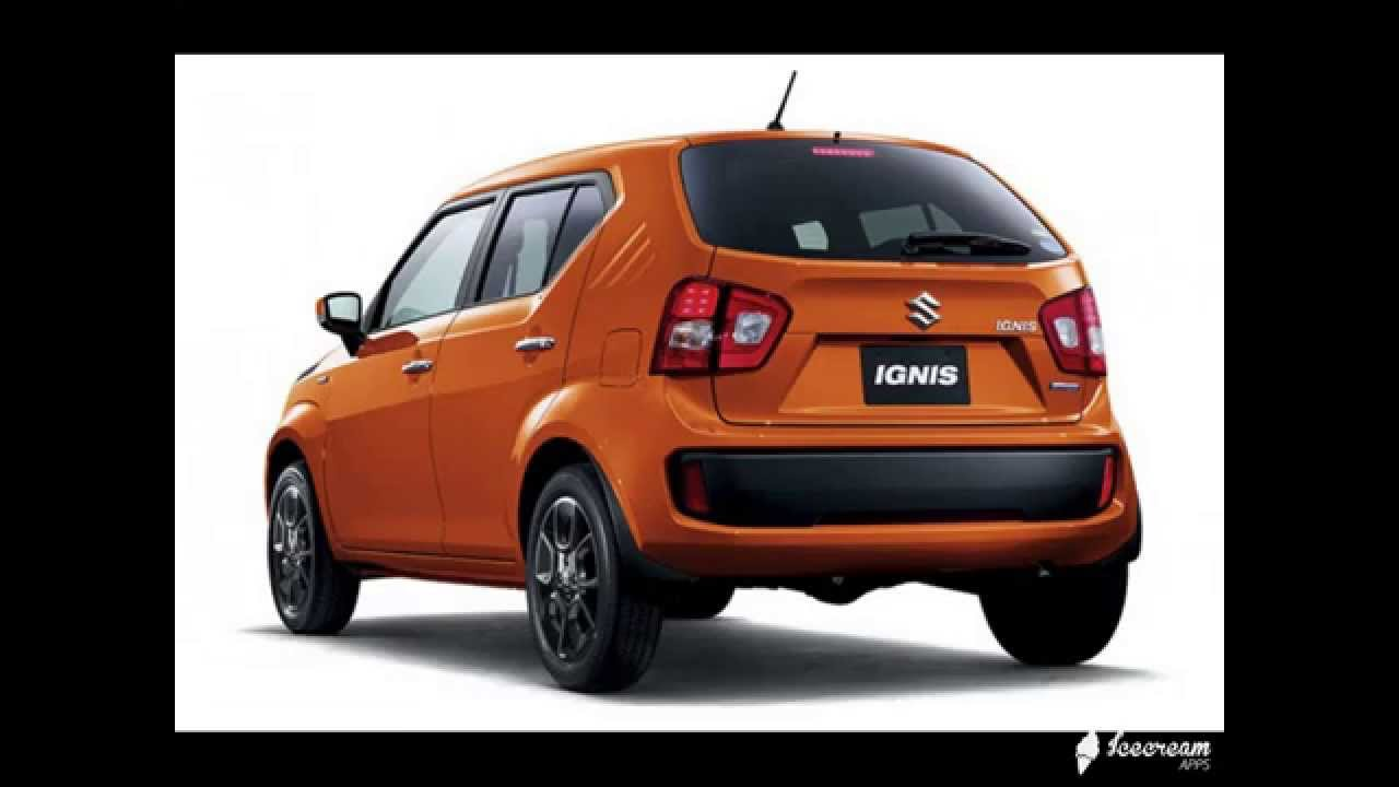 Maruti suzuki ignis at just rs 5 lakh in india ignis to launch in india in mid 2016 youtube
