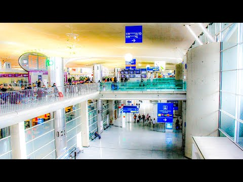 A Walk Around Terminal 2F Arrivals At Charles De Gaulle Airport, Paris