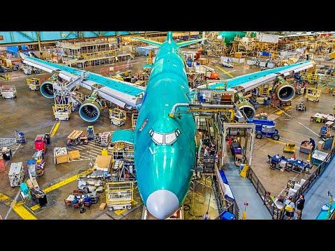 Amazing Modern Boeing Aircraft Manufacturing U0026 Assembling Process. Incredible Production Technology