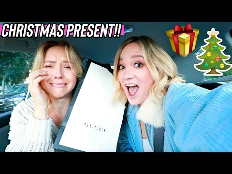 getting my sister an early christmas present from gucci!! vlogmas day 13