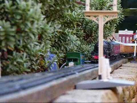 A Tour Of My 00 Gauge Garden Railway