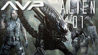 """Alien vs Prédator Walkthrough [FR] (Campagne Alien) Part 01 """"Laboratoire"""""""