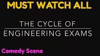 Educational Engineering Exams Cycle Comedy Scene Viral Video MUST WATCH ALL HUMAN BEING