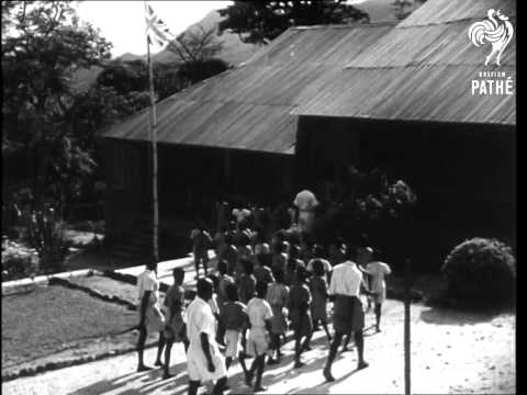 Weaving In Togoland. Children Into School & Native Dancing AKA School In Togoland (1949)