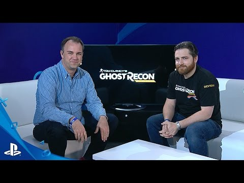 Tom Clancy's Ghost Recon Wildlands - E3 2016 LiveCast   PS4