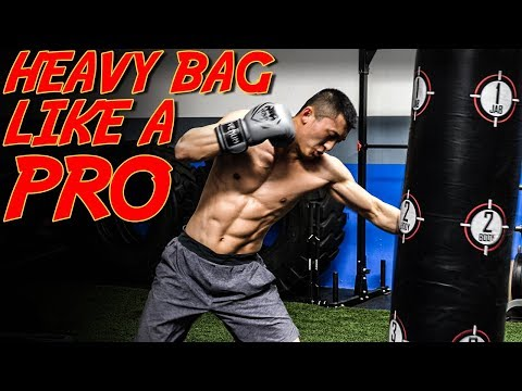 8 Round Boxing Heavy Bag Workout (beginner To Advanced)