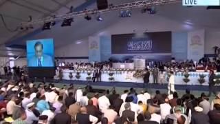 Rami Rangers, Chairman UK Pakistan India Forum at Jalsa Salana UK 2014