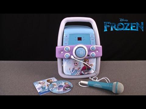 Disney Frozen Flashing Lights Karaoke Machine from Sakar