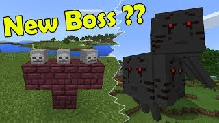 How to Spawn the 3 headed Ghast Boss | Minecraft thumbnail
