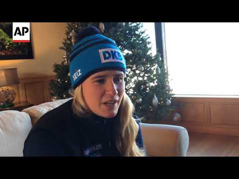 Natalie Geisenberger on Olympic gold medal