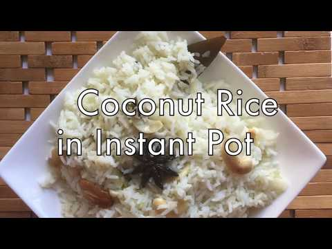 How to make jelly coconut milk rice in pressure cooker