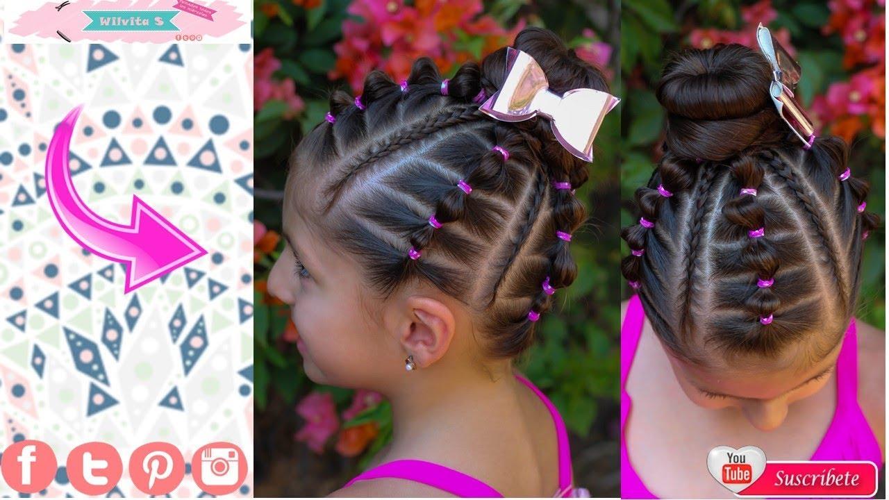 Peinados Faciles Para Nina Paso A Paso Tutorial Trenzas De Moda