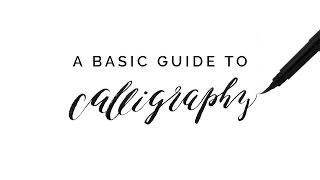 Een basisgids voor Kalligrafie