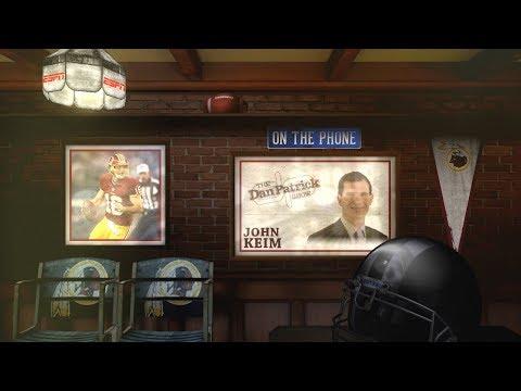 ESPN's John Keim Talks Alex Smith, Kaepernick with Dan Patrick | Full Interview | 12/7/18