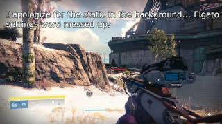 Hereafter Sniper Review + Two PvP Matches Showcasing it (Destiny)