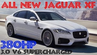 New 2016 JAGUAR XF saloon Unveiled