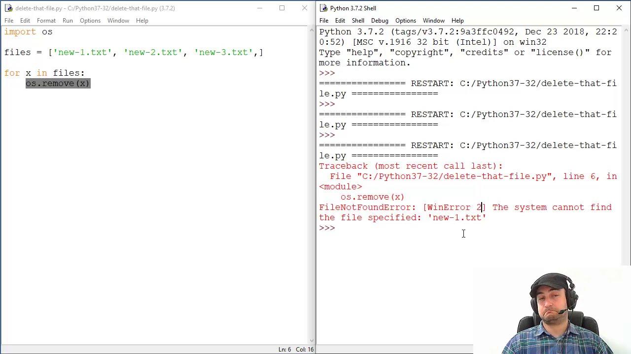 Python Delete File - os remove() Example